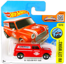 Mattel Hot Wheels - City Works - 67 Austin Mini Van