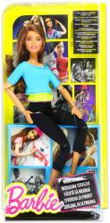 Mattel Barbie - Hajlékony jógababa kék felsőben