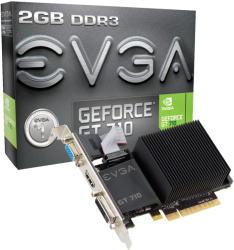 EVGA GeForce GT 710 2GB GDDR3 64bit PCIe (02G-P3-2712-KR)