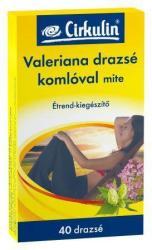 Cirkulin Valeriana drazsé - 40 db