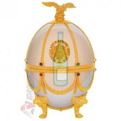 Russian Carskaja Imperial Collection Faberge Egg Pearl Disagne (0.7L)
