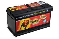 Banner Running Bull AGM 92Ah 850A Jobb+