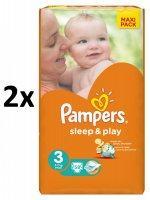 Pampers Sleep & Play 3 Midi (4-9kg) 116db