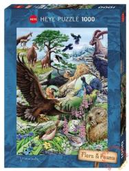 Heye Flora & Fauna - Hegyvidék 1000 db-os (29618)
