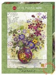 Heye Rózsaszín váza 1000 db-os (29664)