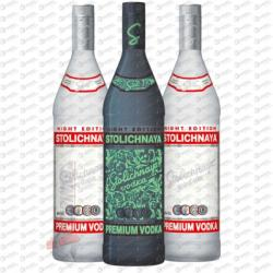 STOLICHNAYA Vodka Night Edition (0.7L)