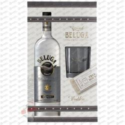 BELUGA Vodka (DD+Pohár) (0.7L)