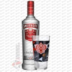 SMIRNOFF Red Vodka Ajándék Pohárral (0.7L)