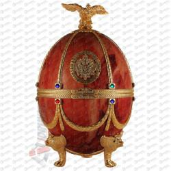 Russian Carskaja Imperial Collection Faberge Egg Marble Disagne Vodka (0.7L)