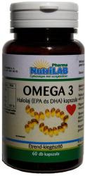 Nutrilab Omega-3 halolaj kapszula - 60 db