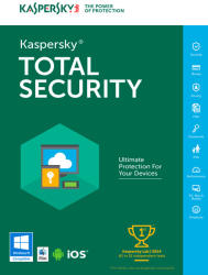 Kaspersky Total Security Multi-Device (5 Device, 2 Year) KL1919ODEDS