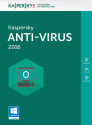 Kaspersky Anti-Virus 2016 Renewal (1 Device, 2 Year) KL1167ODADR