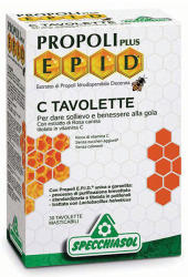 Specchiasol EPID Propolisz+C szopogatós tabletta - 30 db