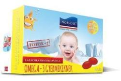 NOR-OIL Omega-3 lazacolaj kapszula gyermekeknek - 60 db