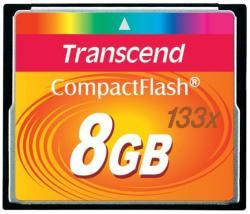 Transcend CompactFlash 8GB 133x (CF) (TS8GCF133)