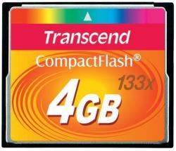 Transcend CompactFlash 4GB 133x (CF) (TS4GCF133)