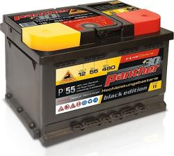 Panther-Batterien Black Edition 55Ah 480A