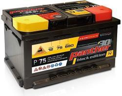 Panther-Batterien Black Edition 75Ah 680A