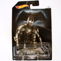 Mattel Hot Wheels - Batman vs Superman - Mad Manga
