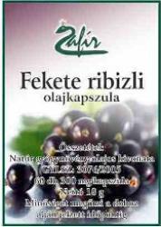 Zafír Fekete ribizli olajkapszula - 60 db