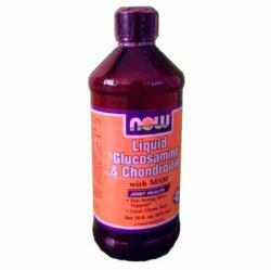 NOW Liquid Glucosamine Chondroitin & MSM (473ml)