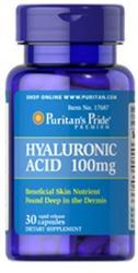 Puritans Pride Hyaluronic Acid 100mg (30db)
