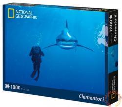 Clementoni National Geographic - Fehéruszonyú szirtcápa 1000 db-os (39303)