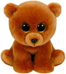 TY Inc Beabie Babies - Brownie, a barna medve 33 cm (TY90222)