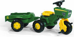 Rolly Toys Tractor Cu Pedale Si Remorca 052769