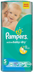 Pampers Active Baby-Dry 5 Junior (11-18kg) 50db