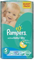 Pampers Active Baby-Dry 5 Junior (11-18kg) 64db