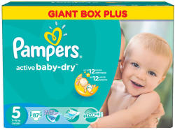 Pampers Active Baby-Dry 5 Junior (11-18kg) 87db