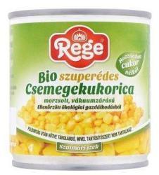 Rege Bio szuperédes csemegekukorica (160g)