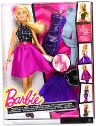 Mattel Barbie - Fashion Mix N Match - szőke baba (DJW58)