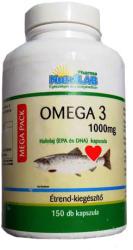 Nutrilab Omega-3 halolaj kapszula - 150 db