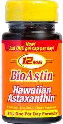 Nutrex BioAstin Hawaiian Astaxanthin 12mg kapszula - 25 db