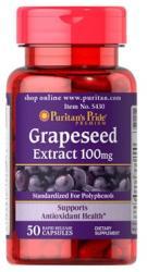 Puritan's Pride Grapeseed Extract 100mg - Szőlőmag kivonat kapszula - 100 db