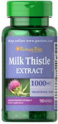 Puritan's Pride Milk Thistle Extract 1000mg máriatövis kivonat kapszula - 90 db