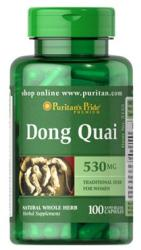 Puritan's Pride Dong Quai 530mg kapszula 100db