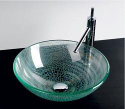 SAPHO Beauty Ice üvegmosdó 42x42x14 cm (2501-04)