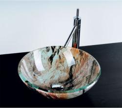 SAPHO Beauty Rock üvegmosdó 42x42x14 cm (2501-07)