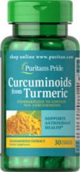 Puritan's Pride Curcuminoids from Turmeric Extract - Kurkuma kivonat kapszula - 30 db