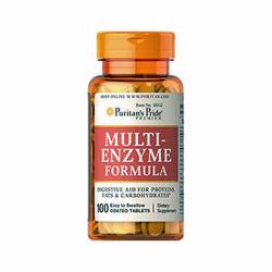 Puritan's Pride Multi-Enzyme Formula tabletta - 100 db