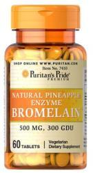 Puritan's Pride Bromelain 500mg ananász enzim kapszula - 60 db
