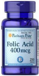 Puritan's Pride Folic Acid 400mg folsav tabletta - 250 db