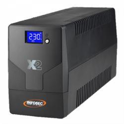 INFOSEC X2 LCD Touch 500VA