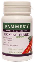 Dammer's Konjac Fibre Complex kapszula - 60 db