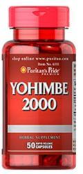 Puritan's Pride Yohimbe 2000 kapszula - 50 db