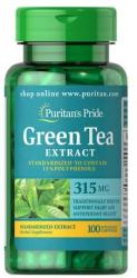 Puritan's Pride Green Tea Extract 315mg zöld tea kivonat kapszula - 100 db