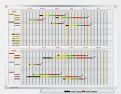 Legamaster Professional éves tervező (2x6 hónap), 90x120 cm (LM7-406000)